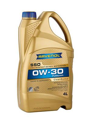 Olej RAVENOL SSO 0W30 4 litry