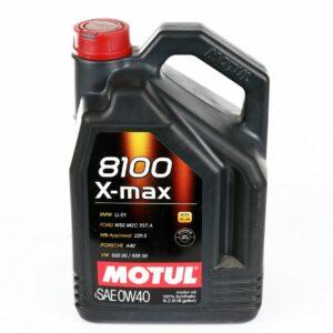 Olej silnikowy MOTUL 8100 X-max 0W40 5 litrów