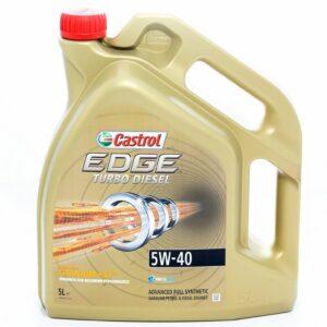 Olej silnikowy CASTROL 5W40 Edge Turbo Diesel 5 litrów