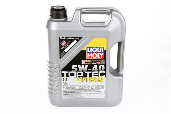 Olej LIQUI MOLY Top Tec 4100 5W40 5 litrów