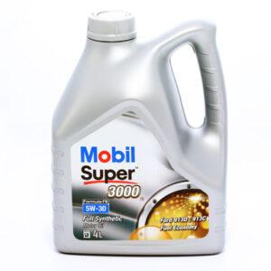 Olej MOBIL Super 3000 FE 5W30 4 litry