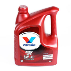 Olej VALVOLINE MaxLife Synthetic 5W40 4 litry
