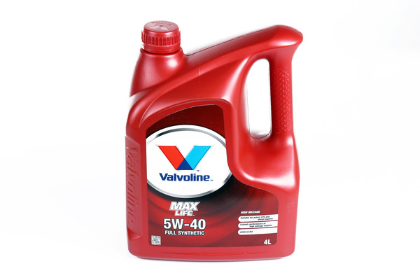 Olej VALVOLINE MaxLife Synthetic 5W40 4 litry