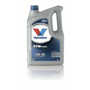 Olej VALVOLINE SynPower FE 5W30 5 litrów