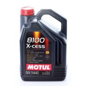 Olej silnikowy MOTUL 8100 X-cess 5W40 5 litrów