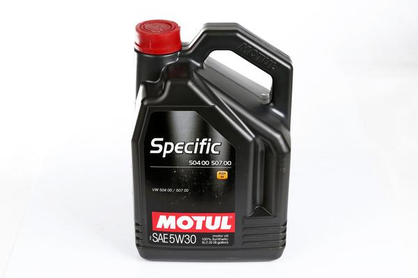 Olej silnikowy MOTUL Specific 504.00 5W30 5 litrów